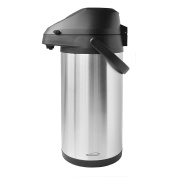 Brentwood CTSA-3500 3.5-Litre Airpot Hot & Cold Drink Dispenser, Stainless Steel