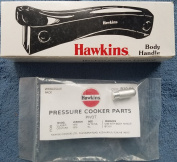 Hawkins Pressure Cooker Body Handle Set with PIVOT, Stud and Screws