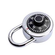 Zehui Password Lock Exquisite Rotary Mechanical Code Lock for Safe Box Fitness Room Wardrobe Zinc Alloy Swing Lock