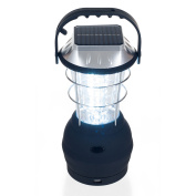 36 LED Solar and Dynamo Powered Camping Lantern by Whetstone
