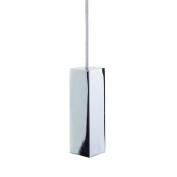 Metal Bathroom Toilet Light Pull Square Cube Modern Design Chrome