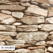 SDKKY Chinese modern PVC imitation brick stone grain wallpaper 3D brick pattern living room living room TV wall-papers , 2