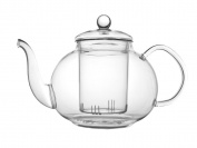 Bredemeijer Verona Single-Walled Glass Teapot, Transparent