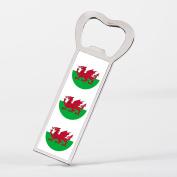 Wales Welsh Flag Baner Cymru Bottle Opener Fridge Magnet