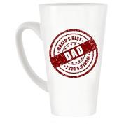 World's Best Dad Seal Design Large Latte Mug 470ml