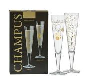 Ritzenhoff Champagne Glass – Champagne Flute Glass Set of 2
