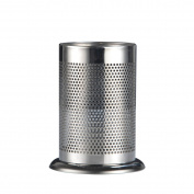 BESTOMZ 17x12cm Utensil Holey Organiser Flatware Holder with Holey Base for Countertop Storage