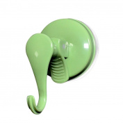 Suction Hooks, Qisc Clear Plastic Vacuum Suction Cup Hooks Sucker Hook Holder Organiser for Towel