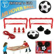 Air Hover Ball, Kkapony Air power football Gate Set with Goal Boys Girls Sport Children Toys Training Football Kids Tabletop Sports Game Toys