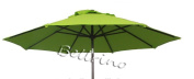 "BELLRINO DECOR Replacement SAGE GREEN "" STRONG & THICK "" Umbrella Canopy for 2.7m 6 Ribs SAGE GREEN"