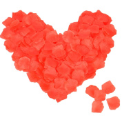 Cozyswan 4000pcs Bright Red Rose Petals Artificial Petals For Wedding Party Home Hotel Anniversary Gift Box Decor