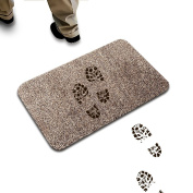 Super Absorbs Mud & Water Remove Dirts Doormat, Magic Step to Clean Mat Indoor Non Slip Entrance Self-Cleaning Pad