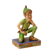 Disney Traditions by Jim Shore Peter Pan Personality Pose Stone Resin Figurine, 4""