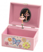 THE SAN FRANCISCO MUSIC BOX COMPANY Butterfly Keepsake Musical Jewellery Box