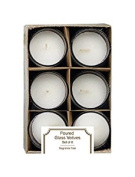 NO SCENT ACCENT CANDL6PK