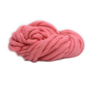 Souarts Watermelon Red DIY Craft Thick Chunky Yarn for Knitting Crocheting Garments Scarves Hats Single Ball