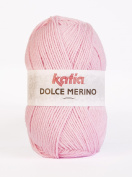 Katia Dolce Merino for Crochet and Knitting Baby Wool 50 g 15 Pink