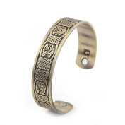 Fashion Health Care Irish Knot Cuff Bangle Magnetic Bracelet for Men and Women