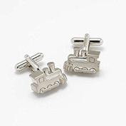 STEAM TRAIN - Novelty Gift Boxed Cufflinks