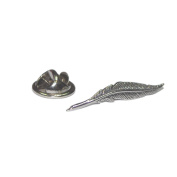 Quill Pen Pewter Lapel Pin Badge Gifts For Him