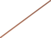 F.Hinds 9ct Rose Gold Fine Curb Chain 41cm inch Necklace Link Jewellery Women Gift