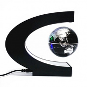 VILONG Levitation Floating Globe Rotating Magnetic Mysteriously Suspended in Air World Map Great Christmas Gift for Fathers Students Teacher