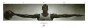MICHAEL JORDAN POSTER Famous Wings Print 72 x 7.3m - 1.8m x 0.6m RARE HOT NEW