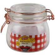 Glad Multi-Purpose Glass Jar - 500ml