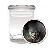 Scary Clown Horror Classic Halloween Medical Odourless Glass Jar