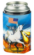 Funny Guy Mugs Space Cat Collapsible Neoprene Can Coolie - Unicorn Drink Cooler