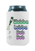 Wubba Lubba Dub Dub - Rick and Morty | Set of Two (2) Funny Novelty Can Cooler Coozie Coolie Huggie - Rick Morty Theme | Beer Beverage Holder - Beer Gifts Home - Neoprene No Fade Can Cooler