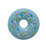INCHANT Chewable Doughnut Teething Toy, BPA & Phthalates Free, FDA Compliant Teething Ring for Baby and Toddler, Gum Massager Donut Teether