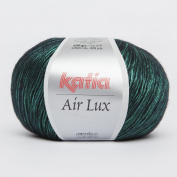 Katia Air Lux # 74 Emerald Green all natural yarn 4ply 70% Viscose 30% Merino Extrafine 50g ball 300mts using 3 - 3.5mm needles