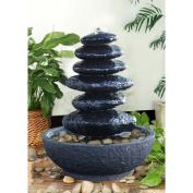 Hi-Line Gift Ltd. Resin Stacked Rock Fountain