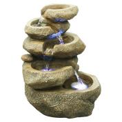 Hi-Line Five Level Rock Fountain