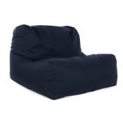 Great Bean Bags Layz Bean Bag Chair, Cotton, Navy Blue, 80cm x 70cm x 60cm