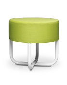 Micki Stool With Soft Seat In Lime