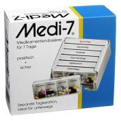 Medi 7 medication dispenser for 7 days