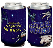 Star Wars Credits X-Wing/StarFighter 1-Pack 350ml 2-Sided Foldable Neoprene Can Cooler …