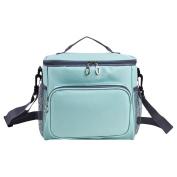 Soft Cooler Bag - Women Soft Cooler Box -10L Picnic Cooler Bag with Adjustable Shoulder Strap,12 Can