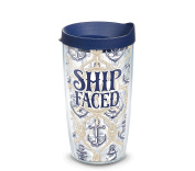Tervis Ship Faced Wrap with Lid 470ml Tumbler 1289199