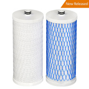 2 Pack Waterdrop Water Filter Replacement for AQ 4035, AQ 4025 Drinking Water Systems