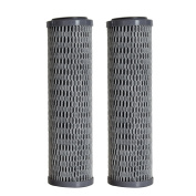 Clear2O Universal Advanced Premium Carbon Filter Standard Capacity Whole House & RV Water Filter - 2 Filters Included - CUF1252