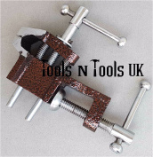 HIGH QUALITY MINI ANVIL BENCH CLAMP 2.5cm JAWS PRECISION WORK JEWELLERY MAKING TOOL