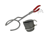 EXCLUSIVE POURING TONGS CRUCIBLES HOLDER HANDLE FOR CRUCIBLE CASTING MELTING ETC