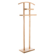 Multi-use bamboo clothes stand- practical and smart- colour