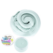 Fluffy Slime Smartip Fluffy Floam Slime Supplies Jumbo Floam Slime Containers Stress Relief Toy Scented Sludge Toy For Kids and Adults 180ml(Baby Blue)