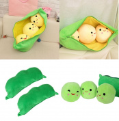 Lovely Emoji Fruit Banana Soft Cushion Pillow Plush Toys Decorative Pillow,Bed Plush Doll Toy, Birthday Gift, Sleeping Soft Plush Toys for Baby Kids Aduts