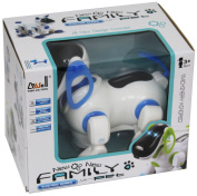 Robot Dog Electronic Pet Toy With Flashing Lights And Sound by Carousel