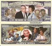 Novelty Dollar In Memory of Tom Bosley 1927-2010 Happy Days Million Dollar Bills x 4